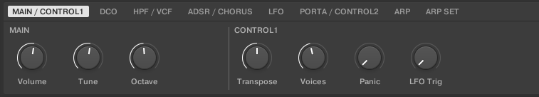 TAL KK Controls