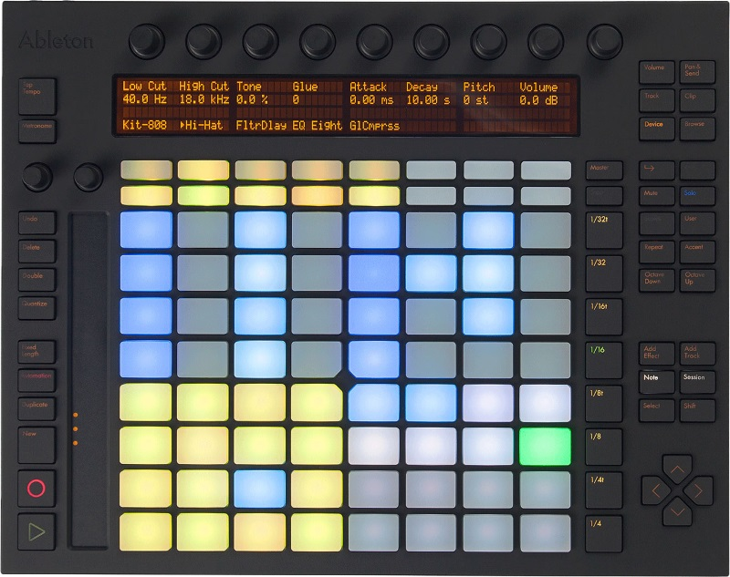 push drum sequencer