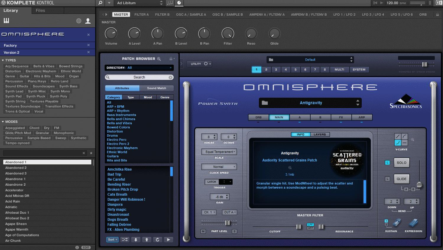 omnisphere nks browser
