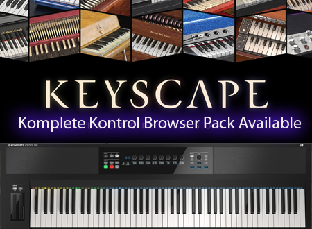 Keyscape NKS Browser for Komplete Kontrol