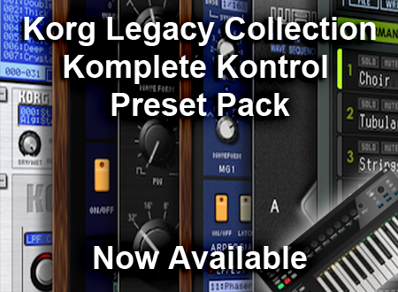 Korg Legacy NKS Browser for Komplete Kontrol