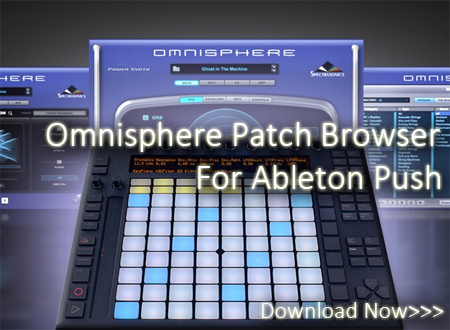 Omnisphere Patch Browser for Ableton Push